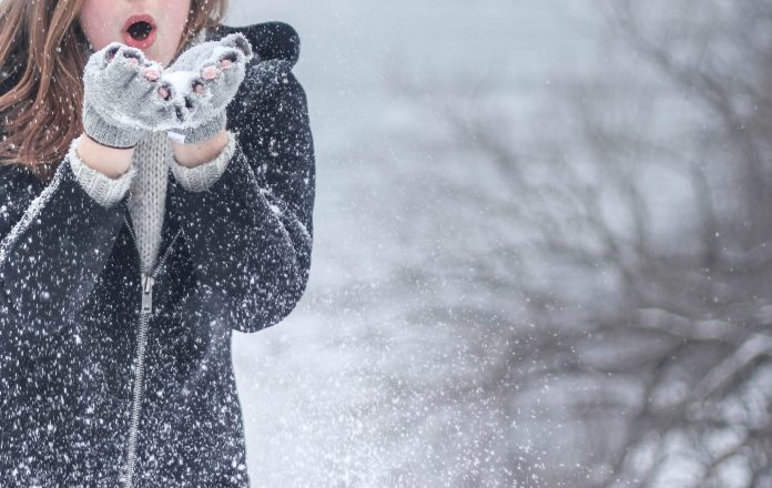 лепота снег