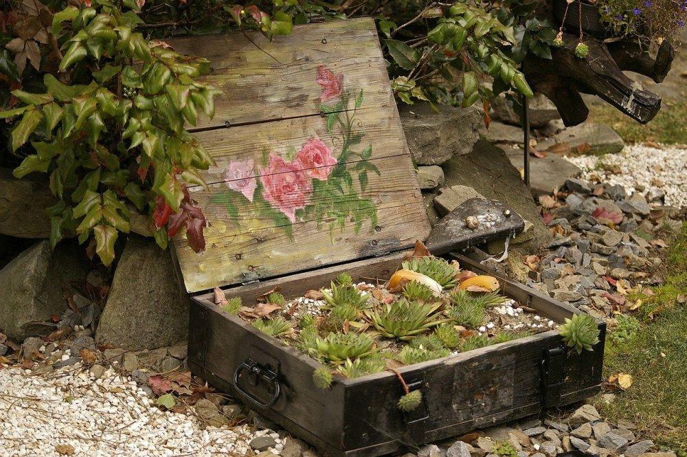 цвеће-кофер-башта