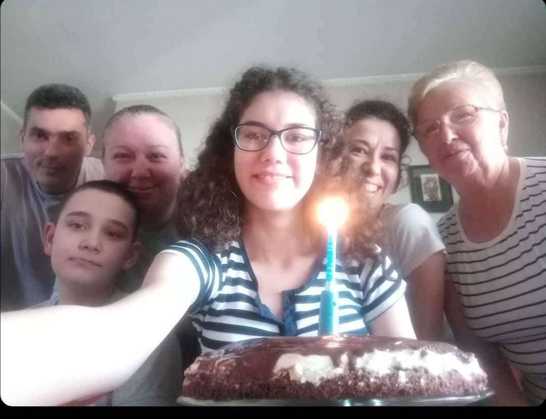 кристина-рођендан-торта-породица